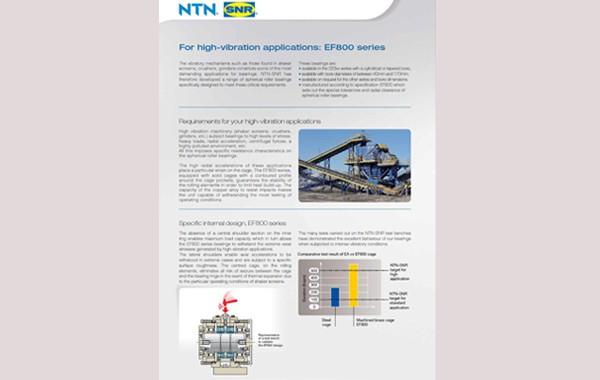 NTN-SNR EF800 series