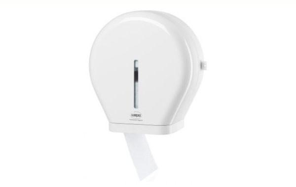 Toilettenpapier Jumborollen + Spender